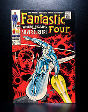 COMICS: Marvel: Fantastic Four #72 (1968), Silver Surfer app - RARE