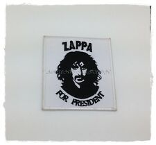 New Frank Zappa Patch Sew Iron On Embroidered Songwriter Rock Band Musician Logo