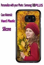 Customized Personal Photo Phone Cases Cover For Samsung Galaxy S8 PLUS
