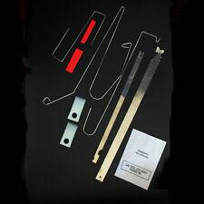 9 Pcs Universal -- Car Lock Out Emergency Tools Kit Unlock Door Open Bump Wedges