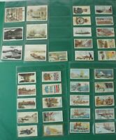 Konvolut Sammelbilder Zigarettenbilder Automatenbilder Maritime Motive Alb-553