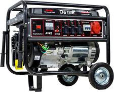 Stromerzeuger 5,5KW Benzin Notstrom Aggregat Stromgenerator Starkstrom 400V+230V