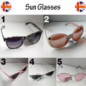 Ladies Women Sunglasses Retro Vintage Shades Oversized Designer Large