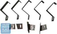 1970-72 Pontiac GTO / LeMans Rear Valance Panel Bracket Set - 9 Pieces
