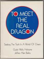 TO MEET THE REAL DRAGON: Seeking the Truth in a World of Chaos - Buddhism