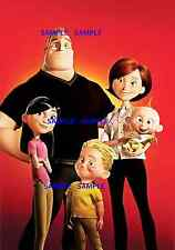 "The Incredibles Family Photo ( 11"" x 15.5"" ) Collector's Poster Print - B2G1F"