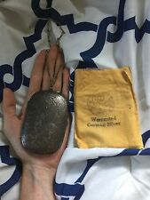 Antique German Silver Coin Purse Compact Mini Purse