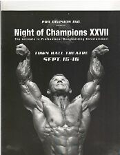 IFBB Bodybuilding Muscle Show Night Of The Champions XXVII Lee Priest