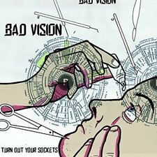 "Bad Vision - Turn Out Your Sockets (NEW 12"" VINYL LP)"