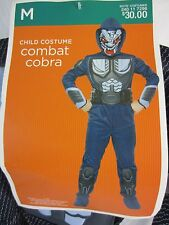 Combat Cobra Halloween Jumpsuit Costume  - Boy's M (6-8) - NWT