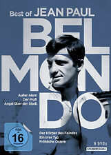 6 DVDs * BELMONDO - BEST OF JEAN-PAUL BELMONDO. # NEU OVP /
