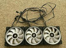 More details for corsair - ll120 rgb fans (x3), 120mm case fans (lot c)