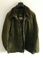 Mens Barbour Beaufort wax jacket Dark Green coat 48 in size Extra Large / 2XL #8