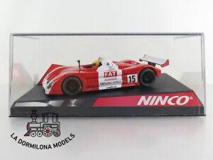 NINCO 50254 BMW V12 LM FAT #15 - NUEVO - SLOT SCALEXTRIC