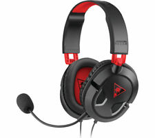 TURTLE BEACH Ear Force Recon 50 2.0 Gaming Headset - Black & Red - Currys