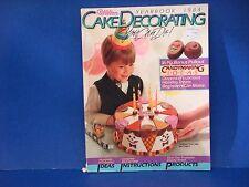 Wilton Cake Decorating Yearbook 1984 Candymaking Ideas Childrens Birthdays M2123