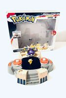Pokémon Battle Arena Playset Boxed With Lights & Sounds + Pikachu Figure By TOMY