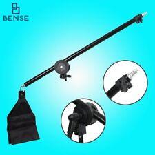 Photography Studio Light Stand Telescopic Boom Arm w/ Sandbag Grip For 75-135cm