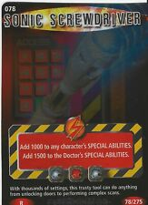 Doctor Who Battles In Time Exterminator Rare Card 078 Sonic Screwdriver Good