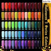BELLE FILLE Gel Halloween Party UV LED Gel Nail Art Soak Off Polish Nail Varnish