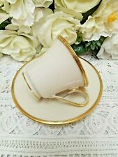 � Lenox Eternal Gold Mark Cup and Saucer Set