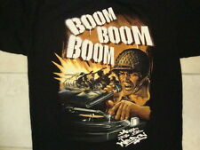 """Anchor Blue """"Music is my Weapon"""" Boom Army DJ Turntable Black T Shirt XL"""