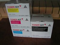 Complete color set of toner cartridge for Canon imageRUNNER2550/2550F/2880...