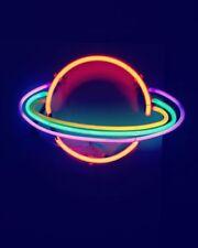 "New Stellar Light Lamp Artwork Handmade Acrylic Neon Sign 14"""