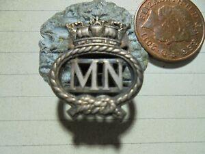 Merchant Navy Seamans MN On War Service Lapel Badge  -  (1004J)