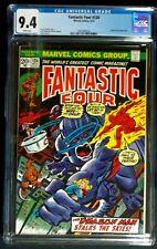 Fantastic Four #134 CGC 9.4 1st appearance of Bob & Carol Landers 1973