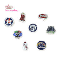 New 10pcs mixed style Floating Charms Fit For Memory Living Glass Locket