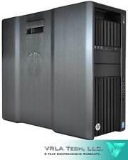 HP Z840 256GB SSD NVIDIA TITAN X PASCAL 32GB RAM 6TB SAS HDD  2 X E5-2687W V4