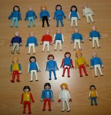 PLAYMOBIL Vintage - lot de 22 figurines Geobra 1974 1981 dont enfant