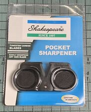 Shakespeare S2Vs Tungsten Carbide Pocket Knife Sharpener