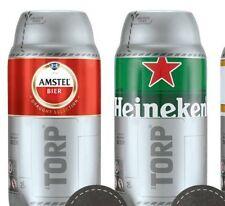 5 Heineken TORPS + 5 amstel TORPS 10 torp di birra da 2 lt (20 e95b1299c56d