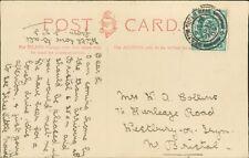 Mrs Collins. 76 Henleaze Road, Westbury-on-Trym, Bristol. 1904  RM.291