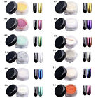 1 Box Glitter Mirror Chrome Effect Dust Magic Shimmer 12 COLORS Nail Art Powder