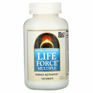 Life Force Multiple, 120 Tablets