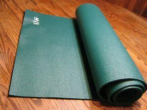 "New 6 ft x 24"" Green Mat KYLE Non-slip Yoga Mat Pad Exercise Fitness"
