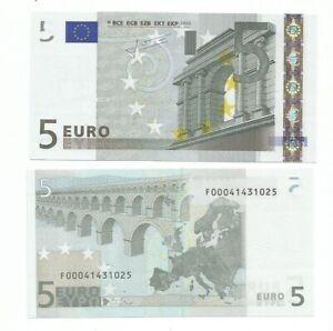 5 EURO TRICHET F MALTA   E009... UNC F00041431.. NUMERAZIONE RARISSIMA