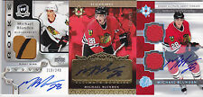 06-07 UD Ultimate Michael Blunden /35 Auto Jersey Signed Debut Threads