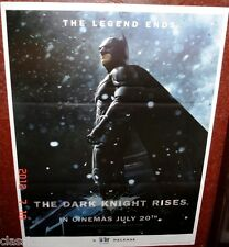 "THE DARK KNIGHT RISES 27"" X 37"" POSTER # 1 CHRISTIAN BALE MICHAEL CAINE"