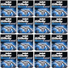 80 Blades Gillette Sensor Excel Shaving Razor Refill Blade Cartridges