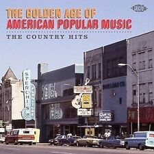 The Golden Age of American Popular Music Country Hits CD LIKE NEW 2008 ACE