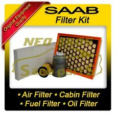 SAAB 9-3 06-09 1.9 DIESEL FILTER SERVICE KIT, AIR OIL FUEL CABIN POLLEN FILTER