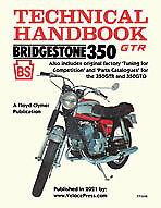 Floyd Clymer BRIDGESTONE MOTORCYCLES 350GTR & 350GTO TECH HNDBK, TUNING...