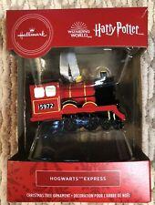 2020 Hallmark Wizarding World Harry Potter Hogwarts Express Train Ornament New