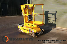 More details for haulotte star 6 vertical mast lift cherry picker access platform *spares+repairs