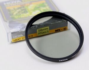 Hoya 58mm ND2 HMC Multi-Coated 2x Neutral Density Filter