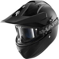 Full Face Men Dual Sport Plain Helmets